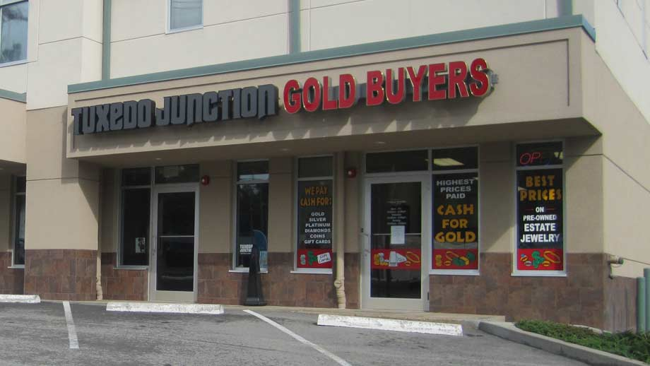 The Gold Buyers of Pittsburgh, Ross Township, 7206 McKnight Road, Pittsburgh, PA 15237, precious metals buyer.
