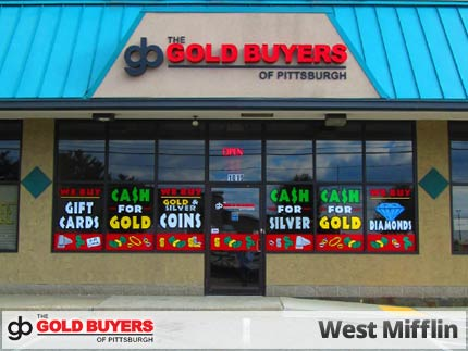The Gold Buyers of Pittsburgh, West Mifflin 1019 Lebanon Road, West Mifflin, PA 15122, precious metals buyer.